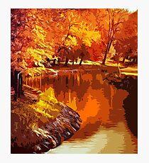 Magical Autumn Photographic Print