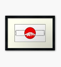 Japan - Fuji Framed Print