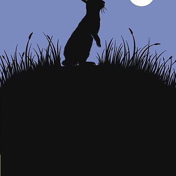 Mondschein-Kaninchen von sirllamalot