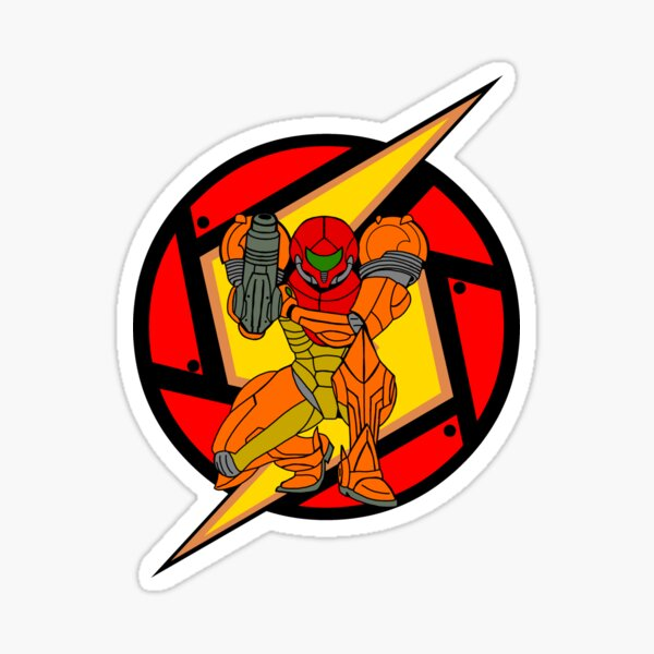 Metroid Samus Sticker