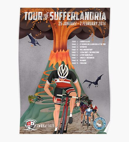 Tour of Sufferlandria 2014 Poster