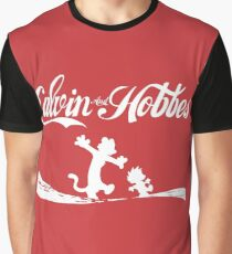 Calvin and Hobbes COKE Graphic T-Shirt