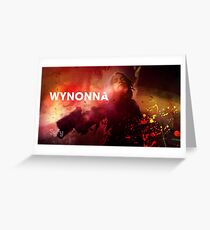 Wynonna Earp Wall Greeting Card