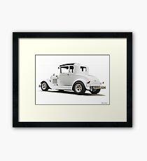 1930-31 Ford Model A Coupe 'Casper' I Framed Print