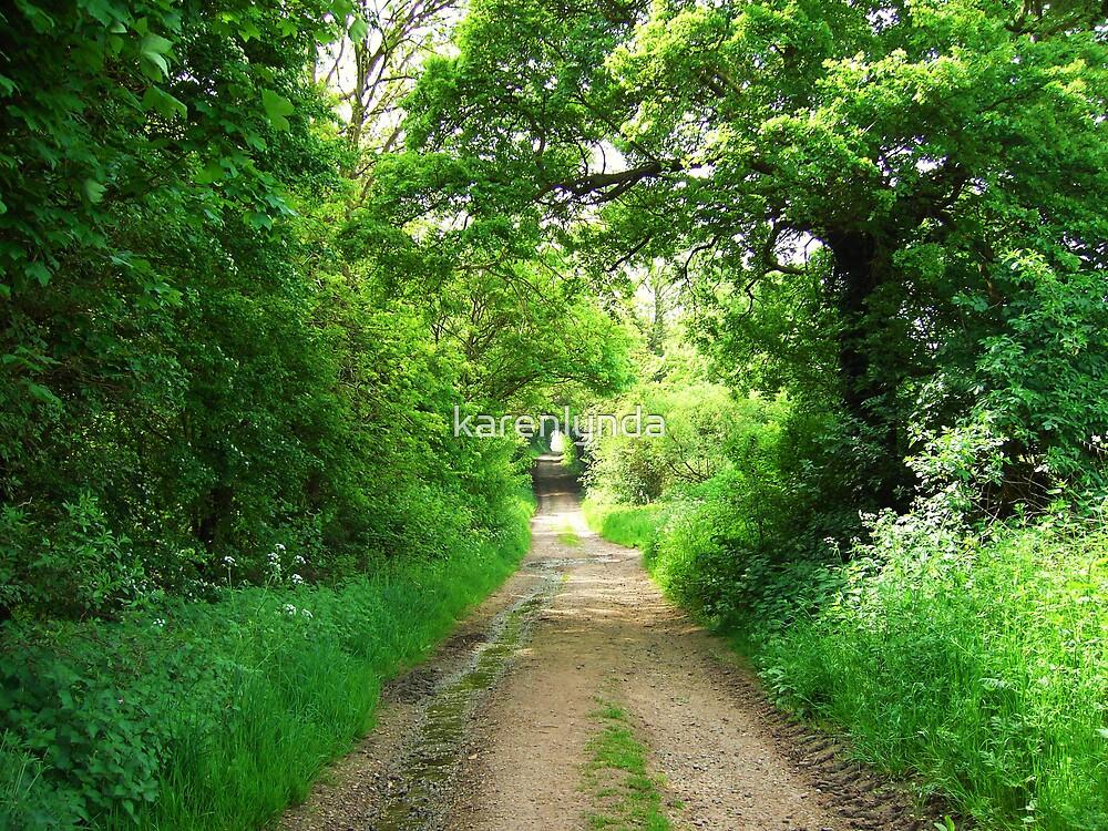 Back Lane by karenlynda