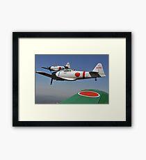 Aircraft from the Tora, Tora, Tora demonstration team. Framed Print