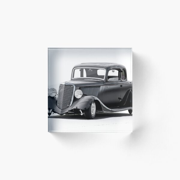 1934 Ford Five-Window Coupe I Acrylic Block