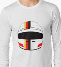 sebastian vettel 2017 helmet Long Sleeve T-Shirt