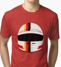 sebastian vettel 2017 helmet Tri-blend T-Shirt