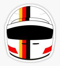 sebastian vettel 2017 helmet Sticker