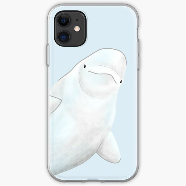 Small Beluga iPhone Soft Case