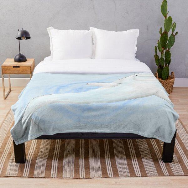 Small Beluga Throw Blanket