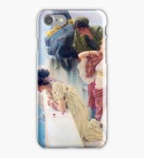 A Coin of Vantage 1895 Lawrence Alma-Tadema iPhone Case/Skin