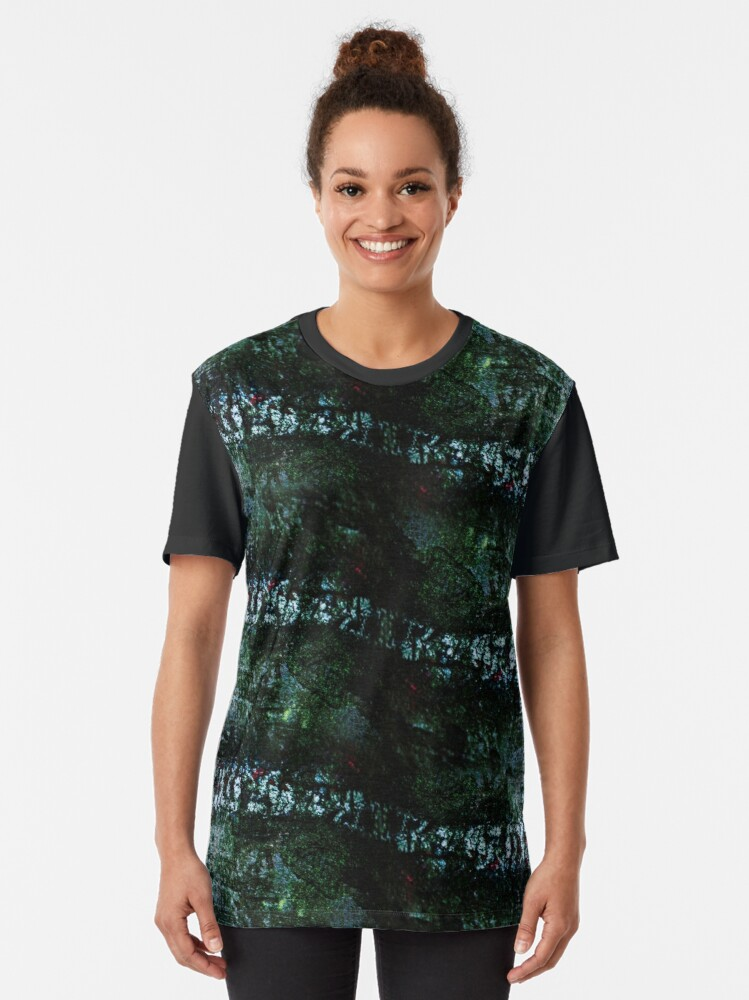 Alternate view of Natural camouflage by Brian Vegas Graphic T-Shirt