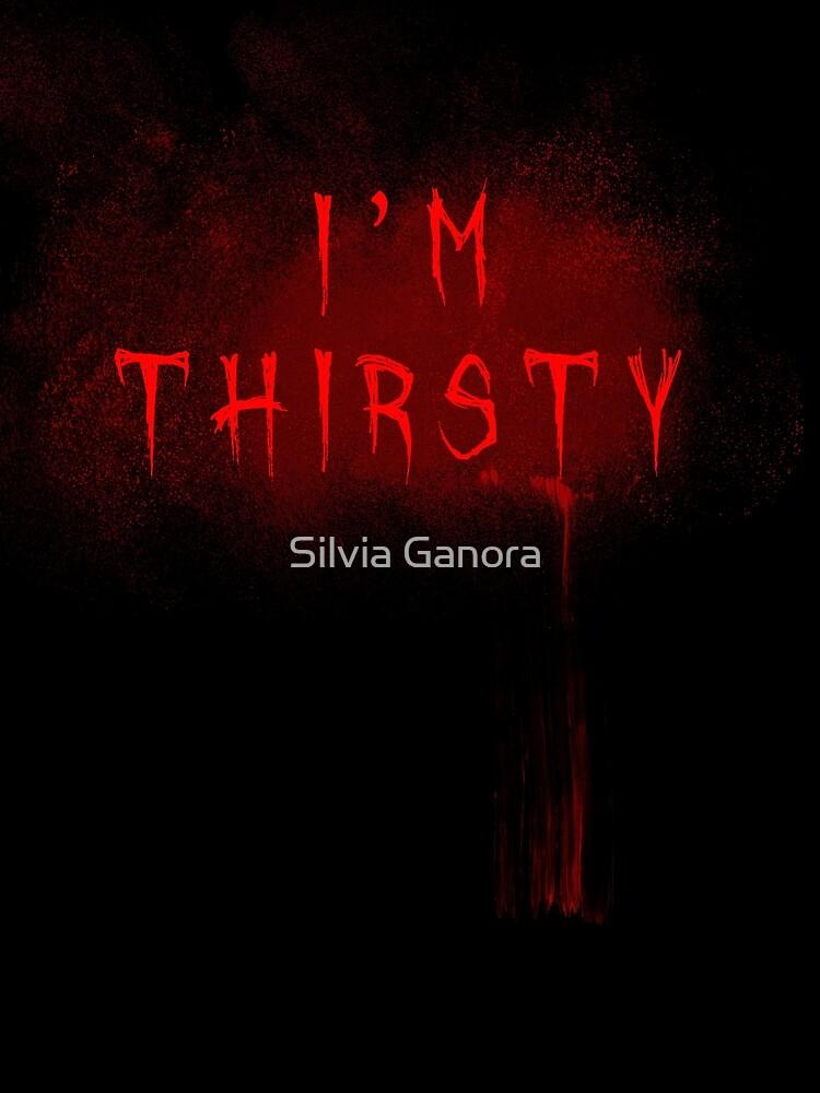 I'm thirsty - Vampire - Horror style by Silvia Ganora