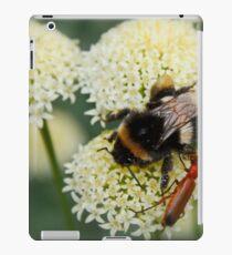 Bee & Soldier Beetle iPad Case/Skin