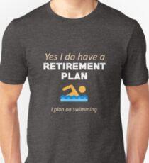 Swimming Funny Swimmer Unisex T-Shirt