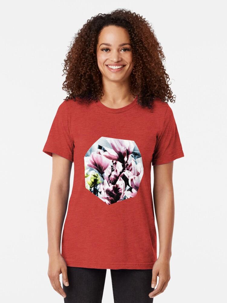 Alternative Ansicht von Magnolia 01 Vintage T-Shirt