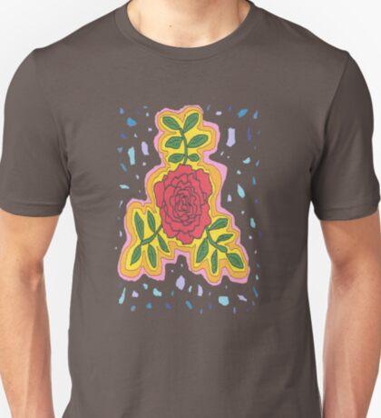 1706 - Mystique Rose In Open Mode T-Shirt