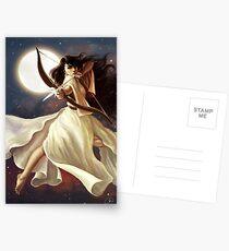 Goddess of the Moon Postcards