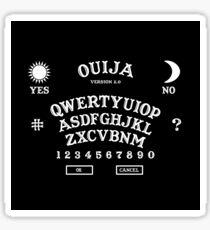 OUIJA BOARD VERSION 2.0 QWERTY KEYBOARD Sticker