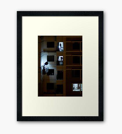 Night Shift Framed Print