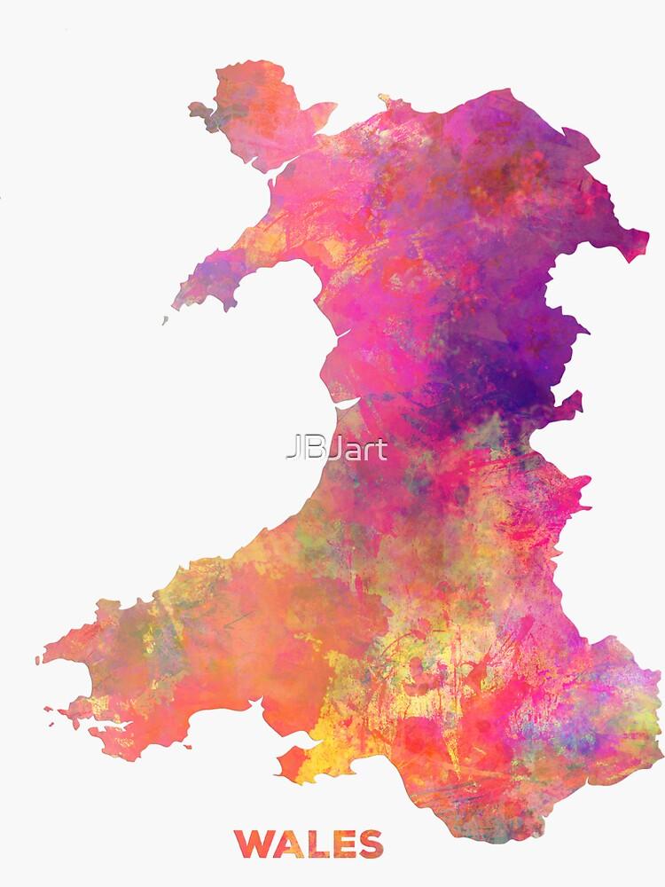 Wales map #wales #map by JBJart