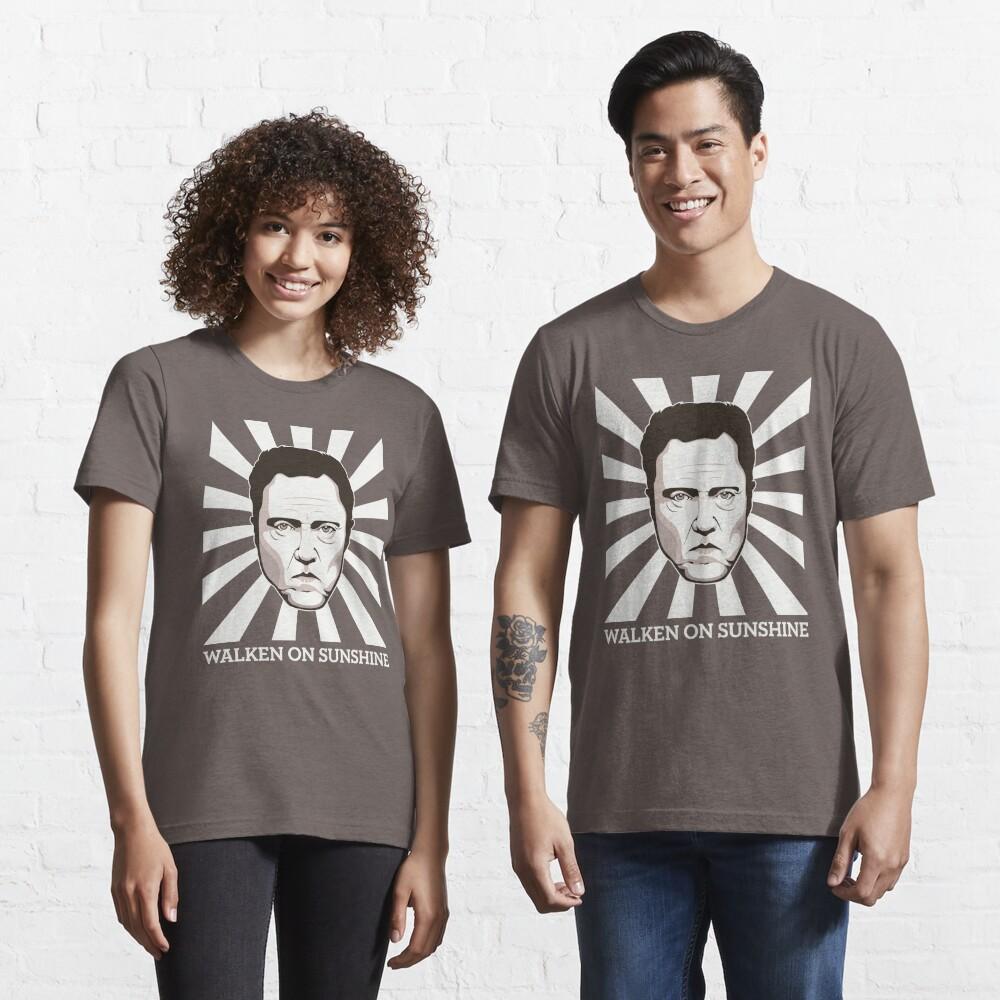 Walken on Sunshine - Christopher Walken (Dark Shirt Version) Essential T-Shirt