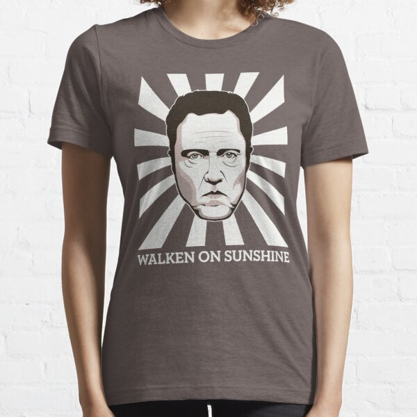 Walken on Sunshine - Christopher Walken (Dark Shirt Version) Essential T-Shirt