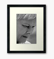 Dame Judi Dench Framed Print
