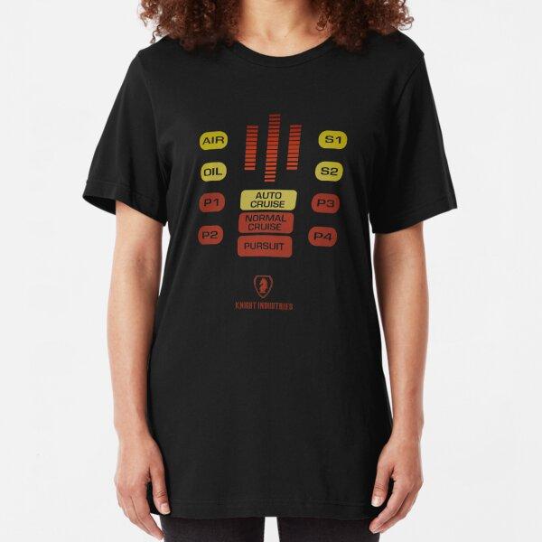 Knight Rider - KITT Slim Fit T-Shirt