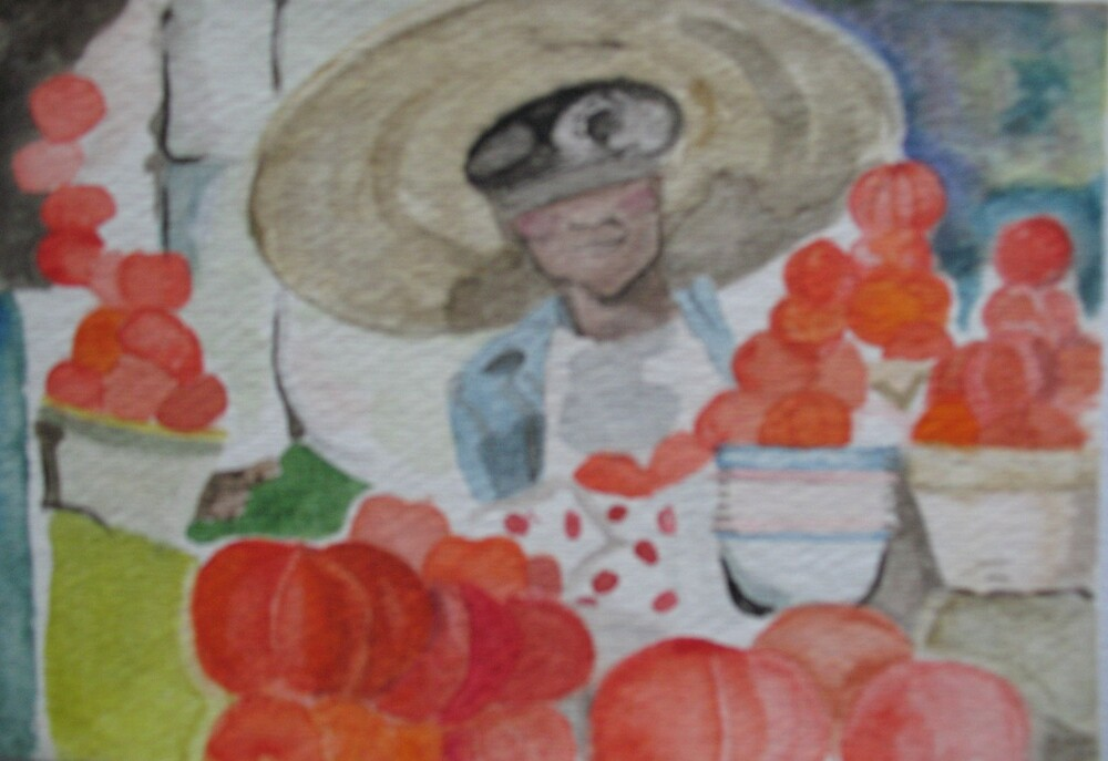 Tomato Vendor by moonrose