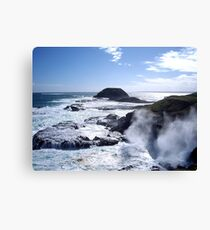 The Blow Hole Canvas Print