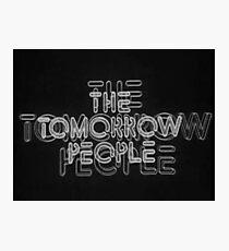 The Tomorrow People Photographic Print