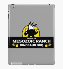 Moon 14 Mesozoic Ranch Dinosaur BBQ iPad Case/Skin