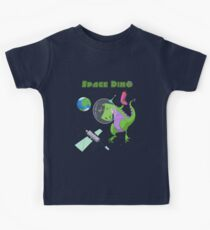 Little Boys & Girls Space Dino T Shirt Kids Clothes