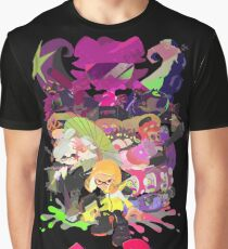 Splatoon 2 Poster Graphic T-Shirt