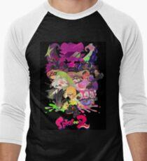 Splatoon 2 Poster Men's Baseball ¾ T-Shirt
