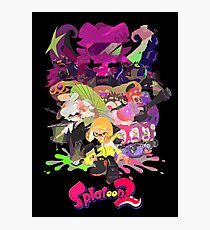 Splatoon 2 Poster Photographic Print