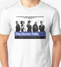 Choose Life. Choose Regeneration. - Doctor Who/Trainspotting Parody Poster T-Shirt