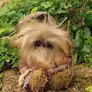 Grummage the Troll from Teddy Bear Orphans fantasy creature by Penny Bonser