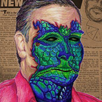 Reptilian Zodiac Killer Ted Cruz by EthanWilson98