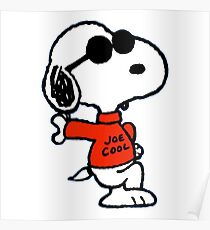 The Peanuts - Snoopy Joe Cool Poster