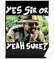 yes sir or yeah sure Poster