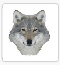 Fractal wolf Sticker