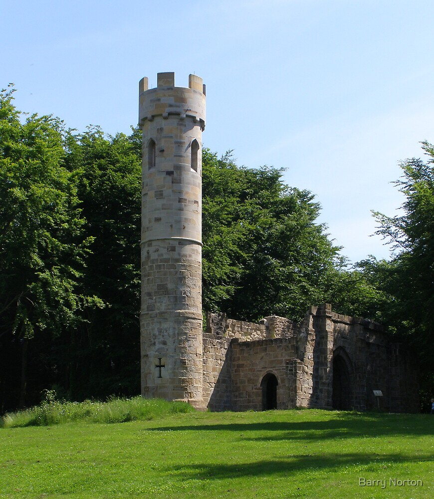 Folly at Hardwick Hall 08/06/08 by Barry Norton