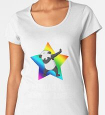 Pandas Are Born In August  Women's Premium T-Shirt