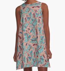 Sandelholz flower pattern A-Line Dress