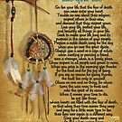 """""""Lebe dein Leben"""", Chief Tecumseh Aquarell-Effekt von Irisangel"""