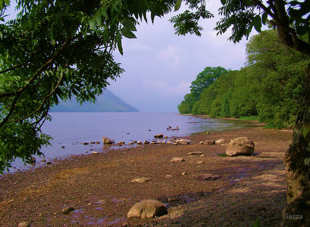 Tranquil Shore by Gazza